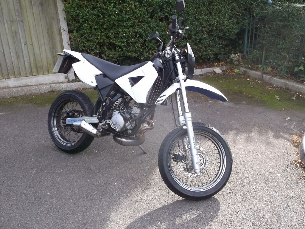 Cpi Sm50 Supermoto 50cc Geared Bike With Loads Of Mot In