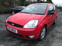 2004 Ford Fiest 1.4 tdci mot.05.21 price £ 490