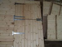 12 x 12 horse stable with 8x 12 tack room + kick boards brand new heavy duty never been erected