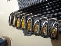 Set of Lynx Predator Golf Irons 4-SW