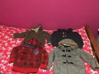 Boys coat bundle 4-5years.