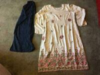 a9b42100b5 Indian Pakistani ladies suit size 18 used good condition £7