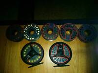 2x LC 100 fly Reels