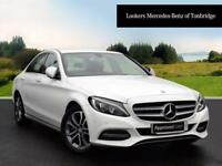 Mercedes-Benz C Class C220 BLUETEC SPORT (white) 2014-10-31