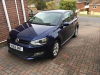 2012 (62 Plate) Vw Polo 1.2 3dr blue