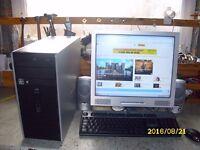 HP DESKTOP COMPUTER.