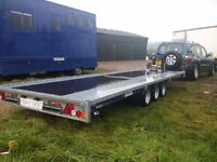 Car transport. Vehicle & farm equipment recovery services. Car transporter trailer hire.