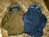 2 coats boys size 8-9 yrs