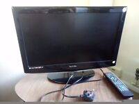 """Technicka 21.6"""" LCD TV. 4 years old. Inc power lead and remote. No packaging. £65 ono"""