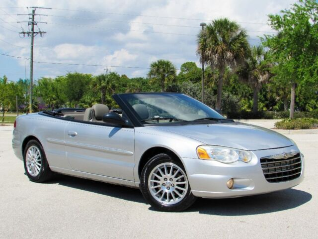 2006 Chrysler Sebring Convertible Touring 2.7 Liter V6 4-Speed Auto 69k Miles