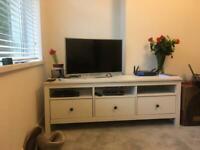 TV stand: Ikea Hemnes