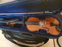 Handcrafted Violin from Czech Republic by Josef Jan Dvozak