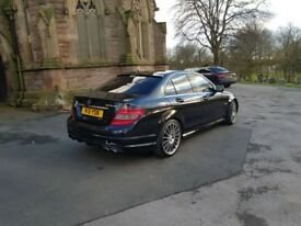 MERCEDES C-CLASS 65k miles low low c63 AMG 200cdi top rep