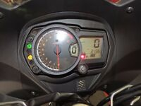 suzuki gsx 1250 fa immaculate condition 2135 miles givi box and leo vince can tyres like new