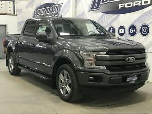 2018 Ford F-150 SuperCrew Lariat Sport 502A 3.0L Power Stroke