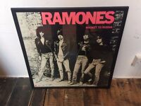 THE RAMONES Rocket to Russia - Framed Poster Print Picture