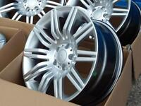 """Brand new boxed 19"""" BMW Spider style alloy wheels (Fit E60 5 series)"""