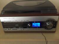 WMA Turntable Cd Radio System