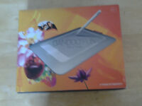 Bamboo fun pen and touch drawing tablet