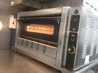 Gas pizza oven SER