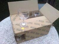 12 NEW WINE GLASSES