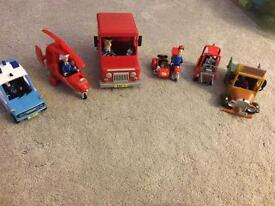 Postman Pat vehicles and characters