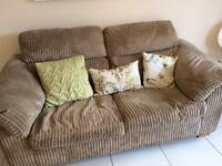 DFS double sofa bed mink in colour