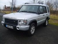 LAND ROVER DISCOVERY, TD5 GS, ONE FORMER KEEPER,