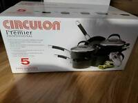 Brand new Circulon Pan set