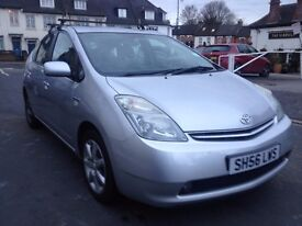 Toyota Prius T3 Hybrid Electric 1.5 automatic , M.O.T oct 2017
