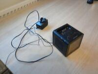 LOGIC 3 RADIO ALARM CLOCK AND SPEAKER