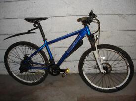 Carrera Vulcan Mountain Bike. Hybrid Bike.