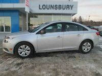 2012 CHEVROLET CRUZE 4DR SDN LS- ONE OWNER! LOW KM'S!