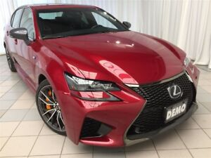 2017 Lexus GS F Performance Package: Includes Winter Tires.