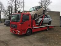 Man truck cartransporter Left hand drive