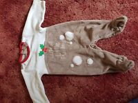 Christmas Clothing Bundle Newborn/Up To 1 Month