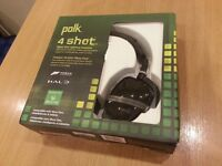 Polk WIRELESS HEADSET for Xbox One + works with tablets, phones (Location Worsley)