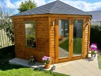 New 12x12 high quality fully insulated garden rooms