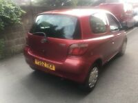 Toyota Yaris 2002 very cheap £440ono