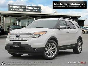 2011 FORD EXPLORER LIMITED V6  4WD  NAV CAM DVD 7PASS PHONE ROOF
