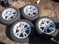 "17"" BMW X3 wheels tyres"