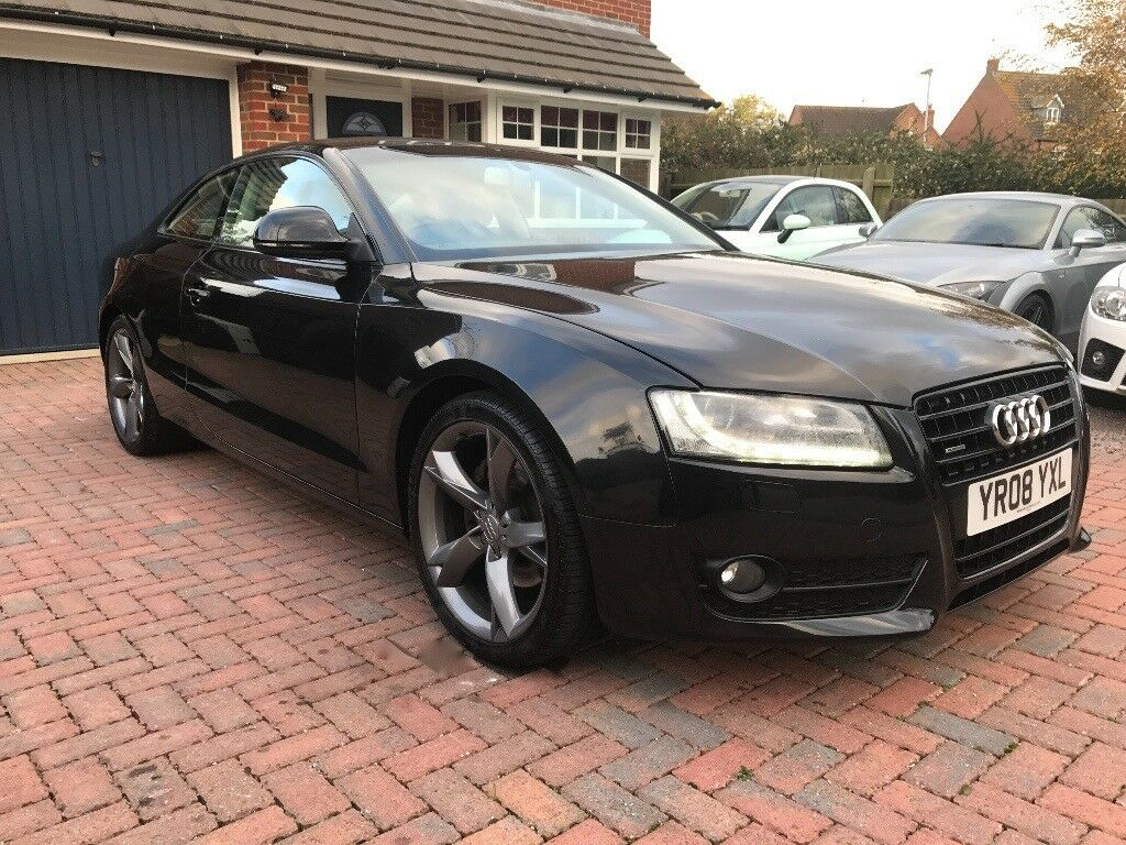 2008 audi a5 sport 3 0tdi quattro coupe manual diesel in. Black Bedroom Furniture Sets. Home Design Ideas