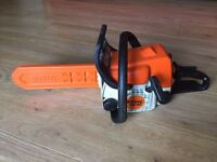 "STIHL MS180 PETROL CHAINSAW 12"" BAR"