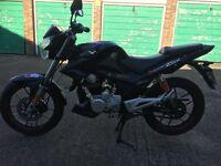 Zsx125 learner legal motorbike