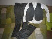 Boys RJR John Rocha Suit and shirt Age 11-12