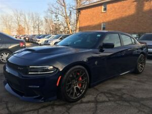 2016 Dodge Charger SRT HELLCAT**LOW KMS**ROOF**LAGUNA LEATHER**