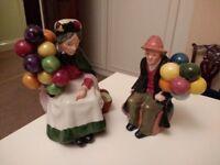Royal Doulton Style Balloon Figurines