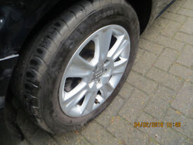 Audi A1 4 alloy wheels
