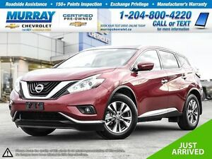 2015 Nissan Murano AWD 4dr SL *Bluetooth, Heated Mirrors, Keyles