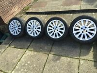 """Rover 25 series 15"""" Alloys and tyres REDUCED"""